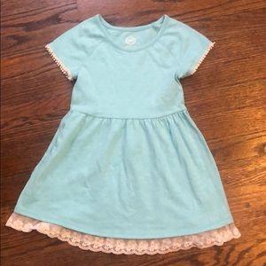 Girls cotton summer dress